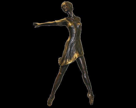DANSE, bronze, H 46 cm